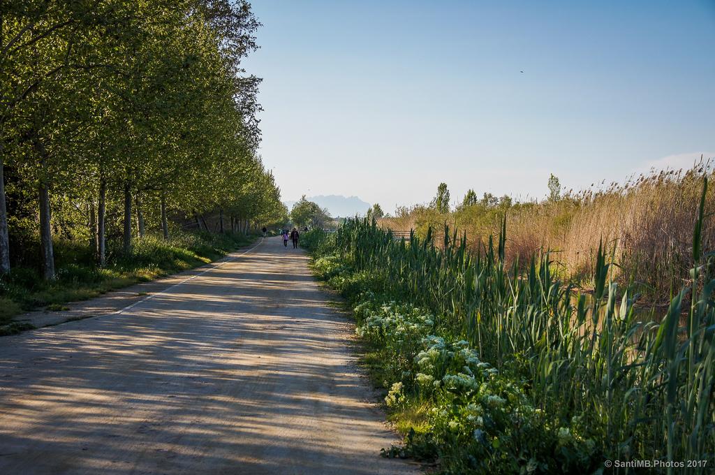 Un paseo por la historia en el barrio de horta en for Piscinas naturales montseny